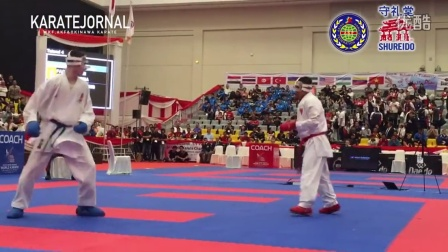 WKF2015 Cadet Kumite Male -70 kg World champion FAQIH KAROMI (INA)