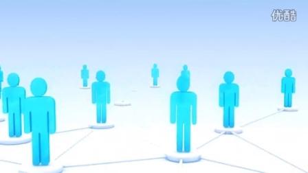 特效人群 立体卡通人物设计元素-蚁窝网 视频素材免费下载