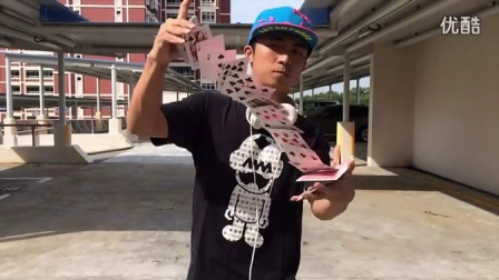 花切 iPhone 5s slow motion Cardistry by Jaspas deck