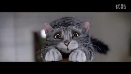 2015圣诞创意广告 - 猫莫格的圣诞灾难 @柚子木字幕组