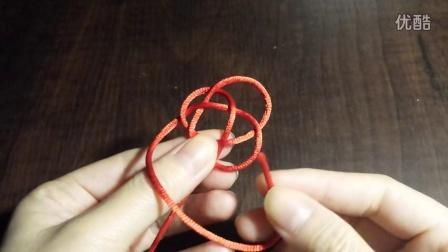 【鹿儿手作】单线纽扣结 绳结编法教程 手工DIY手绳手链教程