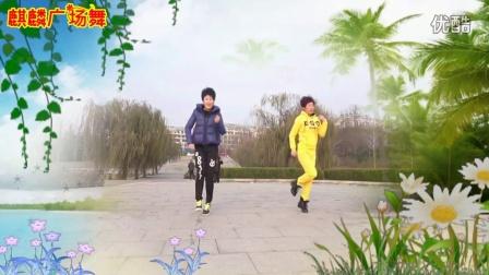 麒麟个人学跳广场舞《小薇你在何方》简单16步