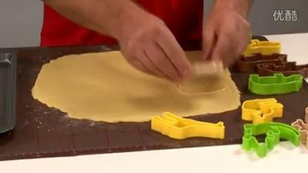 捷克TESCOMA正品 超可爱动物饼干模具 烘焙工具模型套装 厨房用品