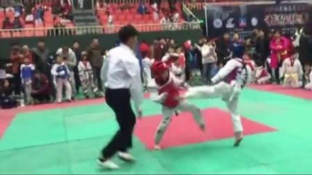 跆拳道比赛慧德武道馆