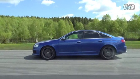 [50p] Cadillac CTS-V LSA Supercharged Estate vs MTM Audi RS6 Stage 3 UNCUT