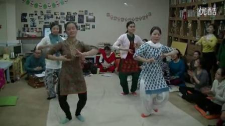 霎哈嘉瑜伽-学跳印度舞(Ganesha)_高清
