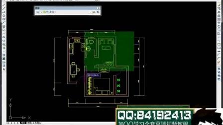cad教程cad设计培训学校_cad建筑平面图教程视频