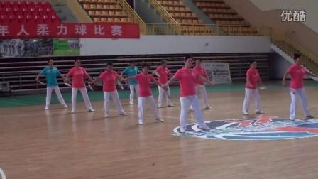 2015年全省老年人柔力球比赛 江西师大代表队 第三套柔力球规定套路展示