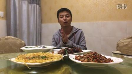 西昌美食行-美食第二十站:脸那么大的肉!!烧烤味的炒肉!!幸福啊!!