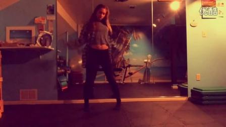 外国妹子跳鹿晗Lu的舞蹈LuHan Lu Dance Choreography by Holly Berry