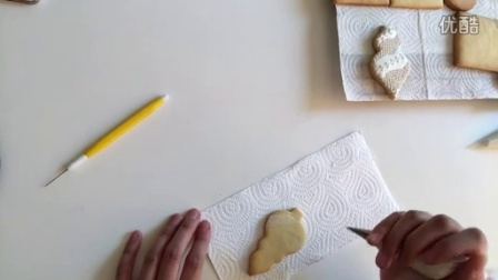 妞家烘焙 糖霜饼干拉线教程 Icing Cookies