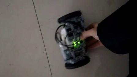 lego乐高创意-ev3两轮车