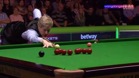 罗伯逊超值单杆147(2015斯诺克英国锦标赛决赛罗伯逊与梁文博)高清720p
