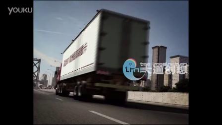 东风霸龙重卡汽车广告