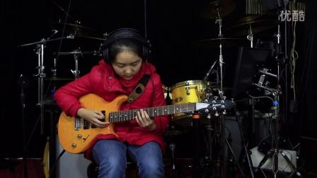 电吉他独奏《雨的印记》by 曹婉清