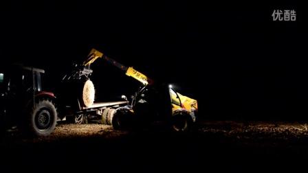 国内基本见不到的机器,因为他们总在晚上工作