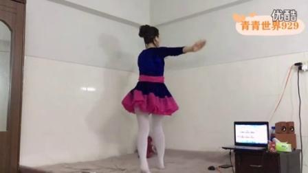 青青世界广场舞  DJ好妹妹(活力健身操)附背面 原创杨丽萍_高清