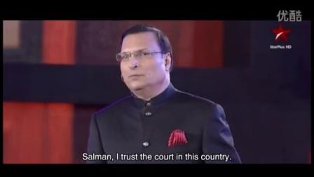 萨尔曼汗、阿米尔汗和沙鲁克汗在印度最久电视节目庆祝上的剪辑版