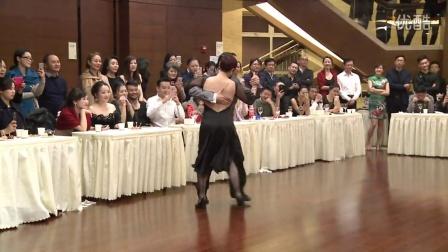 成都玫瑰探戈5周年庆舞台探戈大师表演Jonathan & Aurora-Milonga