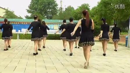 穿心村文雯广场舞《等你等了那么久》