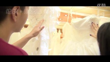 結婚進行時深圳移動電視臺采訪深圳維納斯婚紗攝影