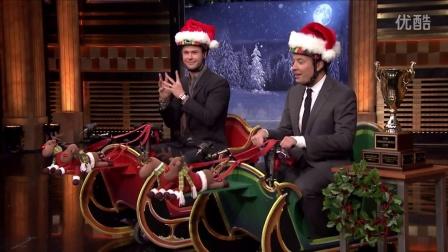 【chrishemsworth吧】Sleigh Scooter Race with Chris Hemsworth