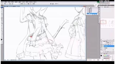 【幻画CG】宋其金《游戏插画课堂》第一章 第二节 角色设计篇 (2015.10.30)