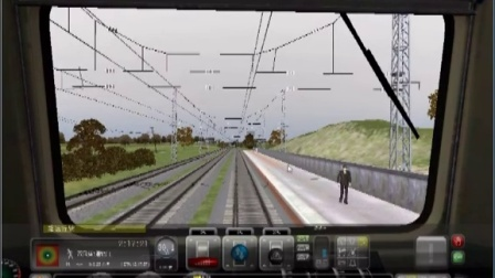 RWC K56320次任务视频,全程火车司机驾驶视角
