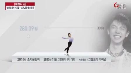 羽生结弦 2015.12.14 TV朝鲜 news