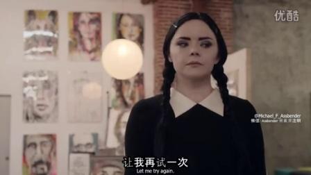 [双语字幕][微信Assbender]Adult Wednesday Addams 206 The Flea Market