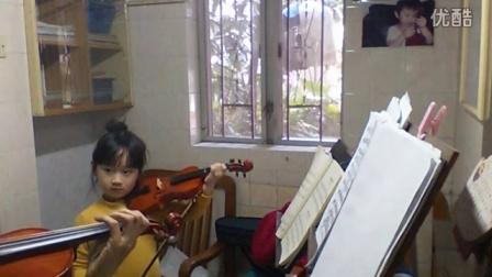 小提琴教与学告诉罗蒂阿姨5岁张慕格