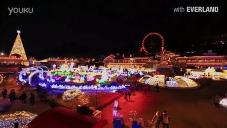 圣诞之夜——爱宝乐园的美丽夜景