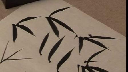 绘画教材 如何画竹子 05 竹叶的画法