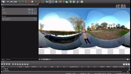 勇哥VR全景视频拼接教程-Autopano Video Pro水平粗校正与Logo补地
