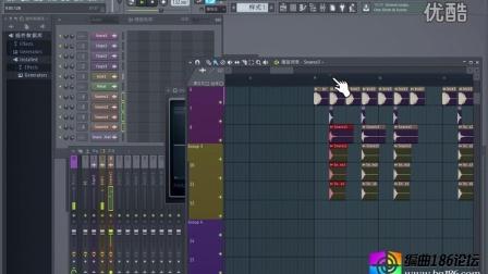编曲186舞曲编曲教程系列二4军鼓镲片的插入与混音