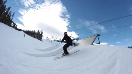 自由式滑雪!与Calvin Barrett一起在雪之边缘飞驰!SNOWBOARD Early Season