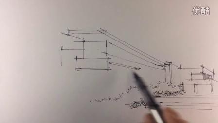 园林手绘-泰山手绘培训机构建筑表现