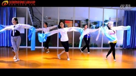 福田芭蕾舞培训班中国舞教学《探寻》深圳舞蹈网教学视频