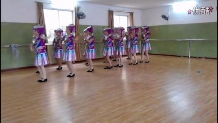 (官方)南宁民族歌舞艺术学校,我校编排《壮家妹》,广西少数民族舞蹈