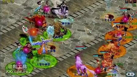 经典版大话西游2游戏 皇宫厮杀一场 恋静猴战将