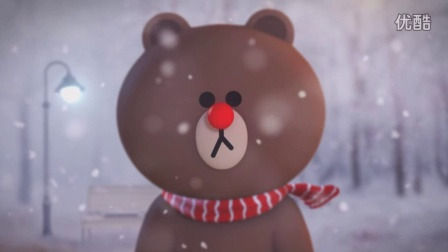 LINE FRIENDS ANIMATION_A Christmas message from Brown