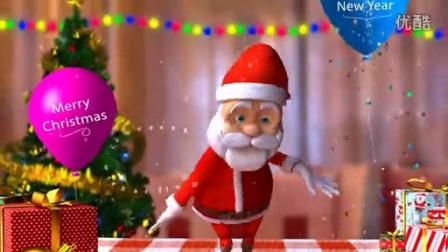 大大脸影视工作室平安夜圣诞节新年祝福片头