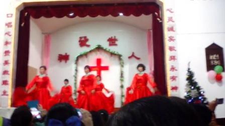 慈城主恩堂舞蹈,主耶稣永远陪伴我