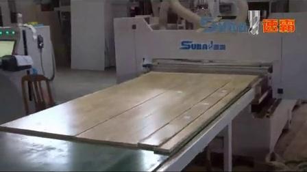 板式家具生产线 定制衣柜/橱柜生产线加工视频 板式家具开料机设备视频