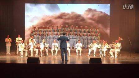 温州苍南-南港军乐团伴奏(四度赤水)