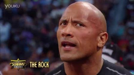 """""""巨石""""强森确认回归2016摔跤狂热大赛 曾联手UFC罗西碾压WWE高层"""