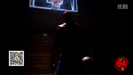 地球上最能跳的蜘蛛人!双手挂框各种虐扣