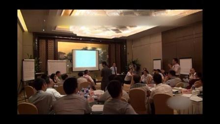 梁光华老师项目管理培训课程之:游戏环节