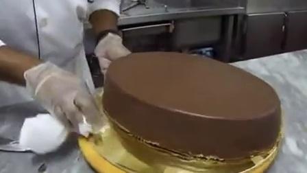 做生日蛋糕-How 2 make Birthday cake Chocolate