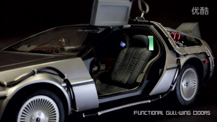 Hot Toys《回到未来》DeLorean Time Machine 1:6比例珍藏时光穿梭车